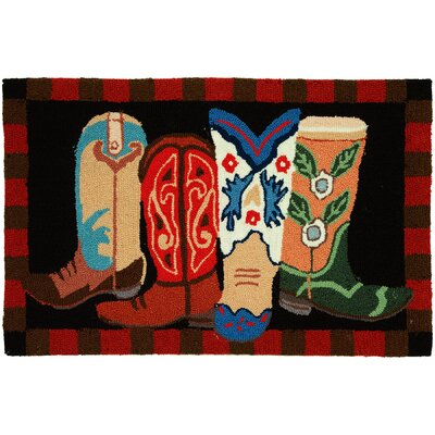 Marshall Boot Scootin Area Rug Rug Size: 110 x 210