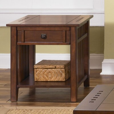 Menlo Park End Table With Storage