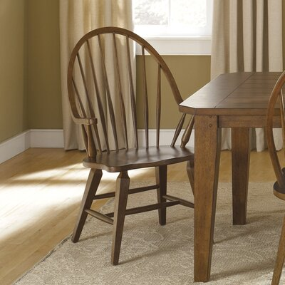 Methuen Arm Chair Arm Chair Finish: Rustic Oak