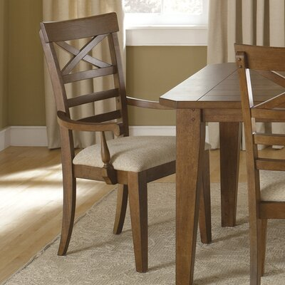 Methuen Arm Chair (Set of 2) Finish: Rustic Oak