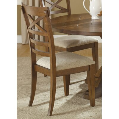 Methuen Side Chair (Set of 2) Side Chair Finish: Rustic Oak