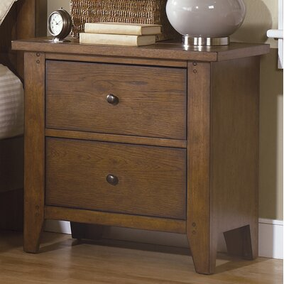 Methuen 2 Drawer Nightstand