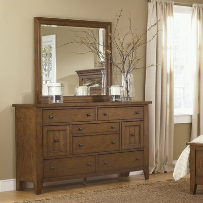 Methuen 8 Drawer Dresser with Mirror