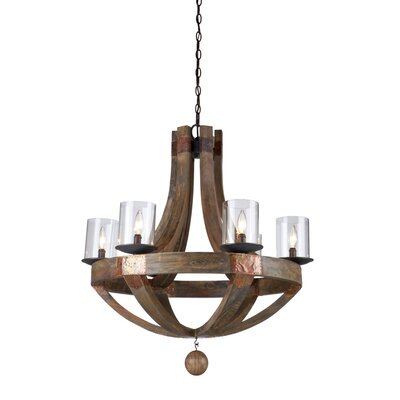 Derby 6-Light Candle-Style Chandelier