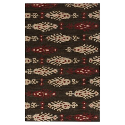 Charleville Espresso Plaid Area Rug Rug Size: Rectangle 36 x 56