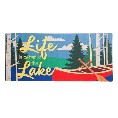 Dominic Life at the Lake Sassafras Switch Doormat