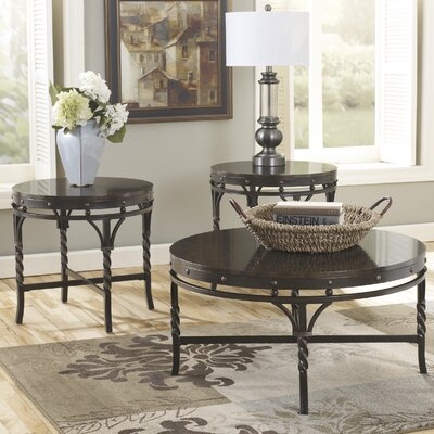 Cole 3 Piece Coffee Table Set