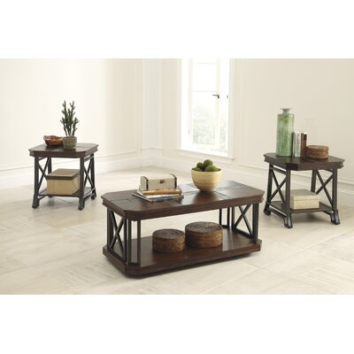 Antlers 3 Piece Coffee Table Set