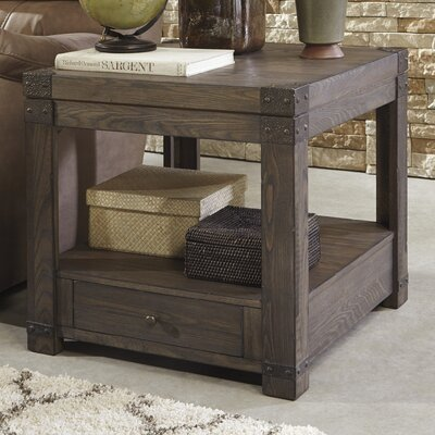 Bryan End Table With Storage