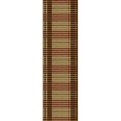 Sanhedrin Stripes Rug Rug Size: Runner 23 x 77