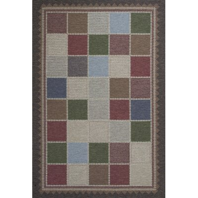 Wilton Fordge Mocha Vista Indoor/Outdoor Area Rug Rug Size: 69 x 96