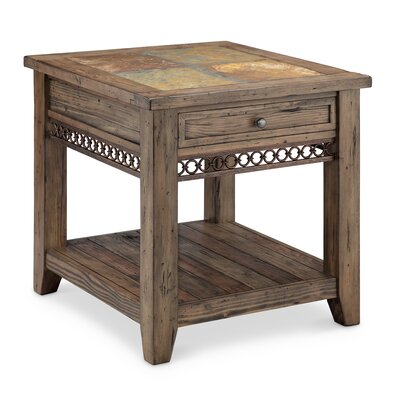 Devere Rectangle End Table