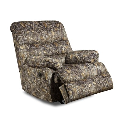 Simmons Upholstery Bryce Camo Rocker Recliner Type: Power