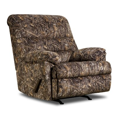 Simmons Upholstery Bryce Camo Rocker Recliner Type: Manual
