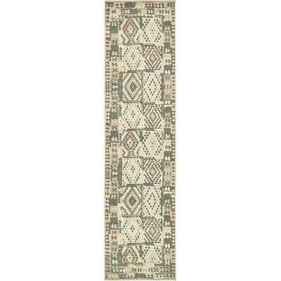 Giovanni Cream Area Rug Rug Size: Runner 3 x 10