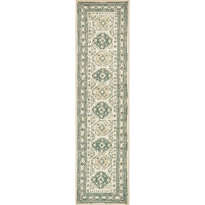Giovanni Ivory Area Rug Rug Size: Runner�3 x 10