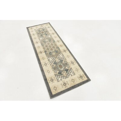 Giovanni Ivory Area Rug Rug Size: Runner 2 x 6
