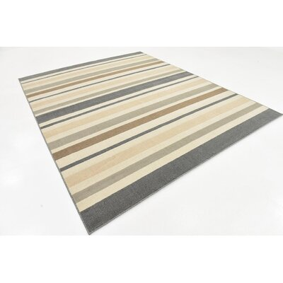 Giovanni Beige/Brown Area Rug Rug Size: 8 x 10