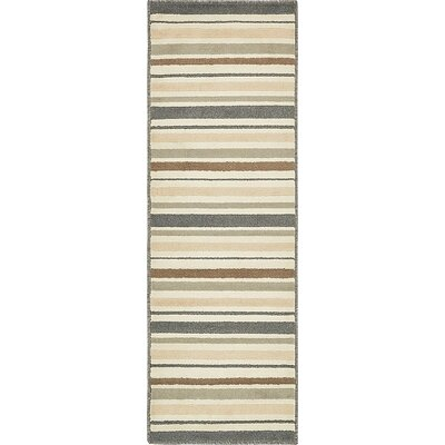 Giovanni Beige/Brown Area Rug Rug Size: Runner 2 x 6
