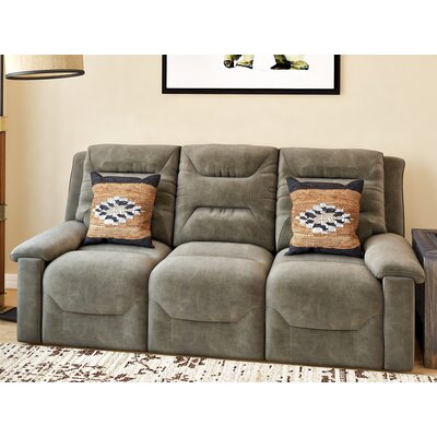 Tressider Reclining Sofa Type: Manual