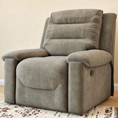 Tressider Manual Rocker Recliner Type: Power