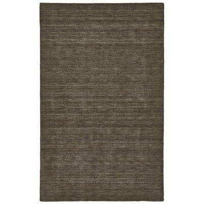 Joel Hand-Woven Brown Area Rug Rug Size: 2 x 3
