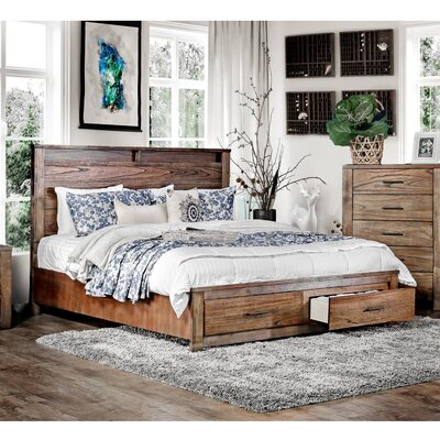 Zena Platform Bed Size: King