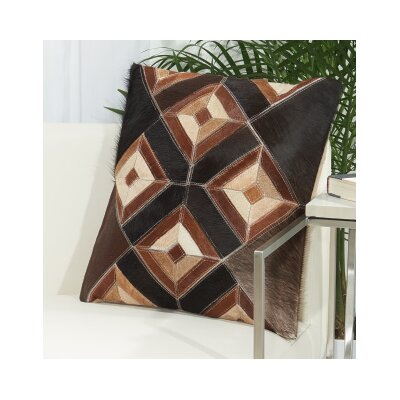 Arcata Throw Pillow Color: Brown