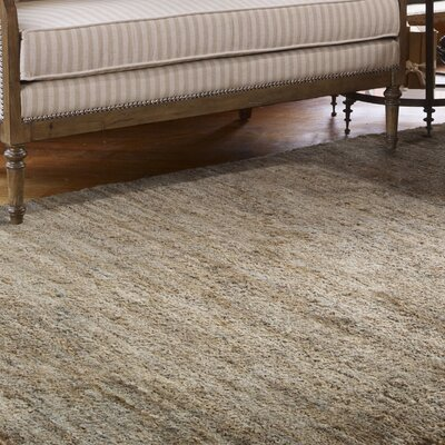 Maxwell Hand-Knotted Brown/Rust Blue Area Rug