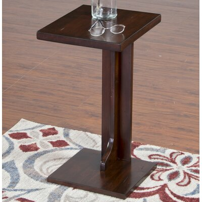 Midvale End Table Color: Brown
