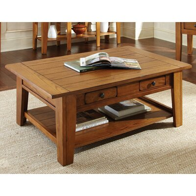 White Mountain Coffee Table Finish: Multi-Step Oak