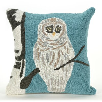 Folsom Snowy Owl Indoor/Outdoor Throw Pillow