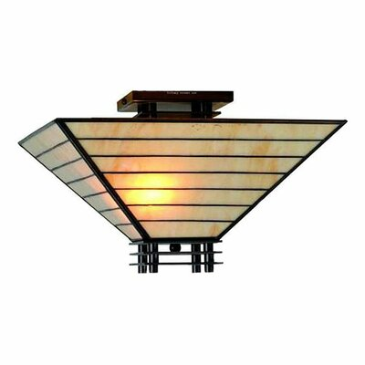 Jace 2-Light Semi Flush Mount