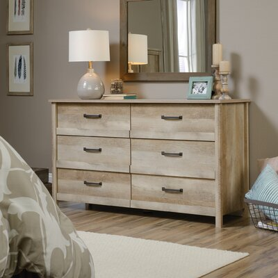 Sunlight Spire 6 Drawer Dresser Finish: Lintel Oak