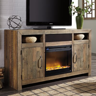 Hemet LG TV Stand with Electric Fireplace