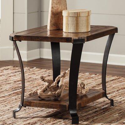 Kortney Rectangular End Table