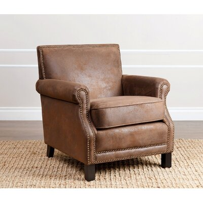 Nucla Club Chair Upholstery: Brown