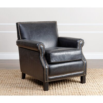 Nucla Club Chair Upholstery: Black