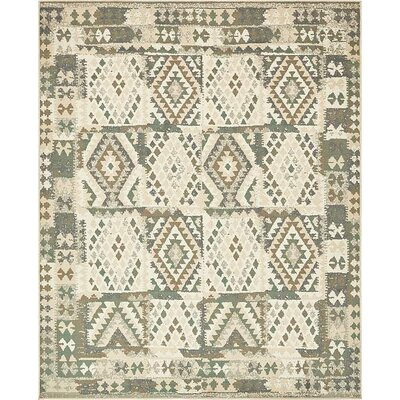 Giovanni Cream Indoor Area Rug Rug Size: Rectangle 5 x 8