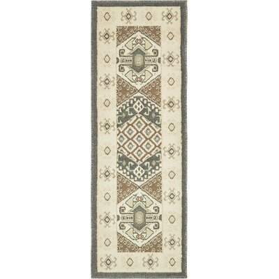 Giovanni Brown Area Rug Rug Size: Runner 2 x 6