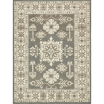 Giovanni Gray Indoor Area Rug Rug Size: 8 x 10