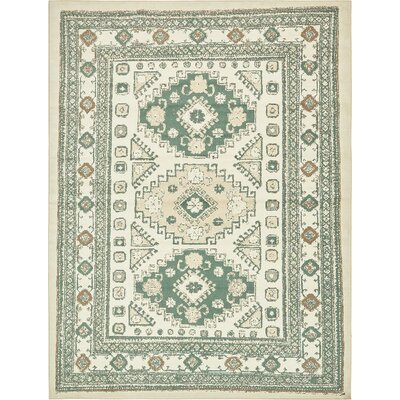 Giovanni Ivory Indoor Area Rug Rug Size: 5 x 8