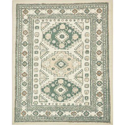 Giovanni Ivory Indoor Area Rug Rug Size: 8 x 10