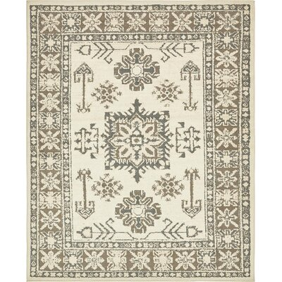 Giovanni Cream Indoor Area Rug Rug Size: 8 x 10