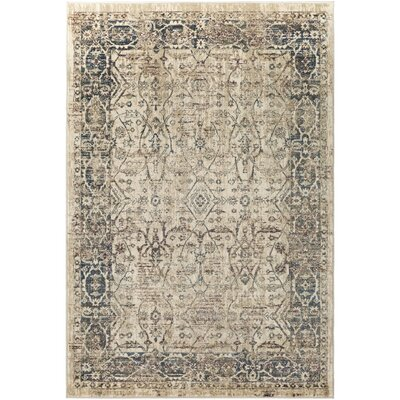 Ipasha Orange/Dark Brown Area Rug Rug Size: 53 x 76