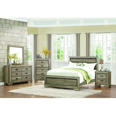 Henry Panel Configurable Bedroom Set