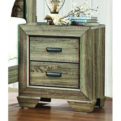 Henry 2 Drawer Nightstand