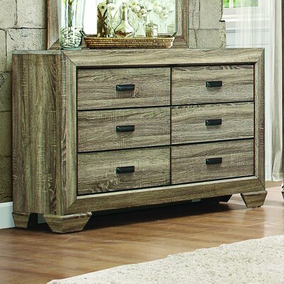 Henry 6 Drawer Double Dresser