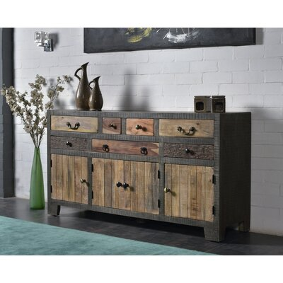 Dureau 7 Drawer 4 Door Sideboard