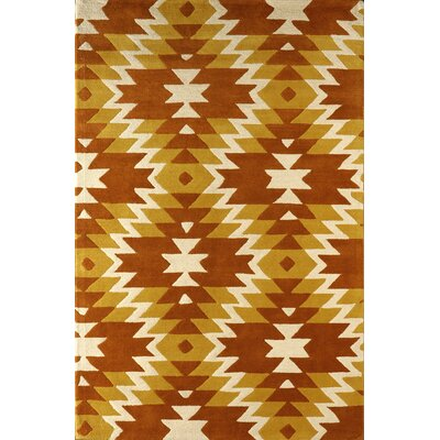 Alverstone Hand-Tufted Sorrel Area Rug Rug Size: Rectangle 6 x 9